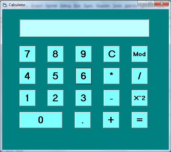 Completed Calculator Application