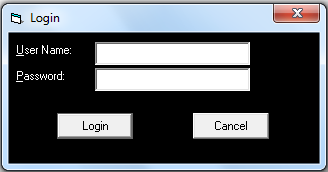 Form Login - Library Management System