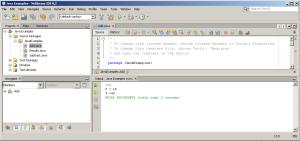 Output: Java Program using Multiple Classes