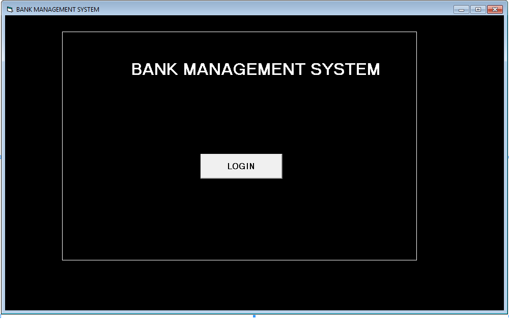 FORM -bank management system in vb 6.0 using ms access.