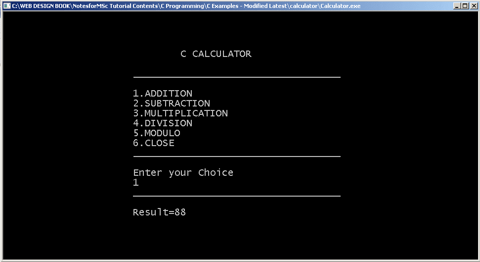 Output2-Calculator-Addition