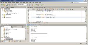 Output - Java Program to Compute Average Mark of Students