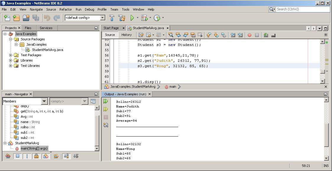 Output 4 - External Storage Class
