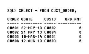Insert Data to Cust-Order Database - Customer Order-Processing Database