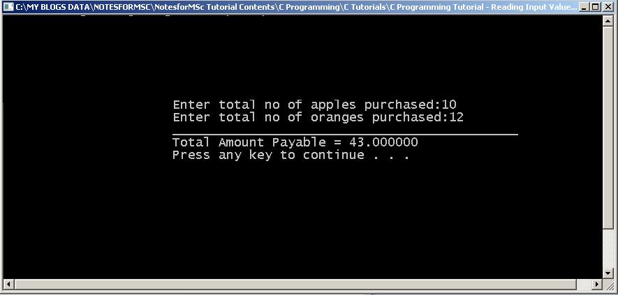 Output-Example-Program