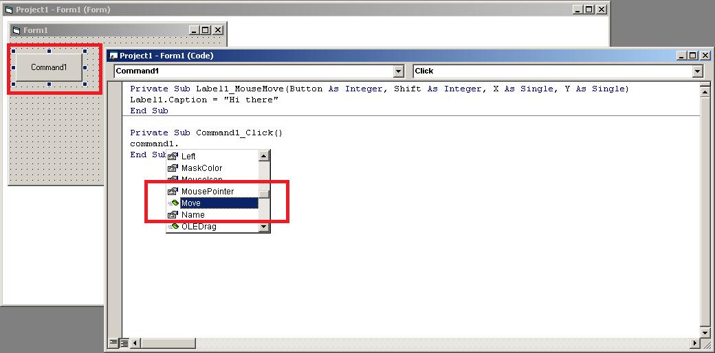 Visual Basic Code Editor