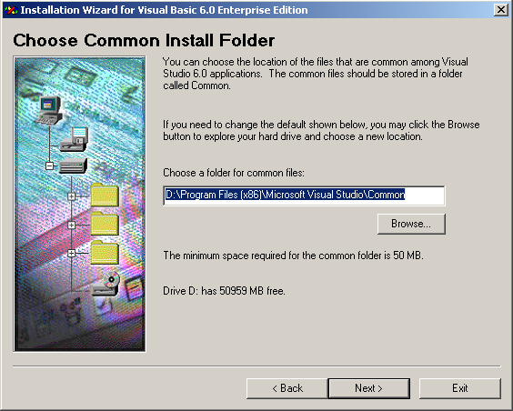 Choose an Install Folder