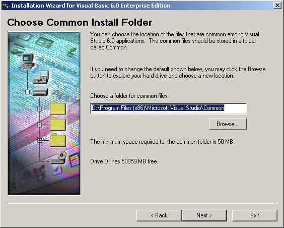 Choose an Install Folder