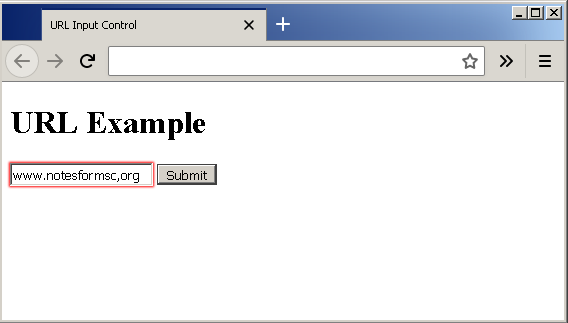 Output - URL Control