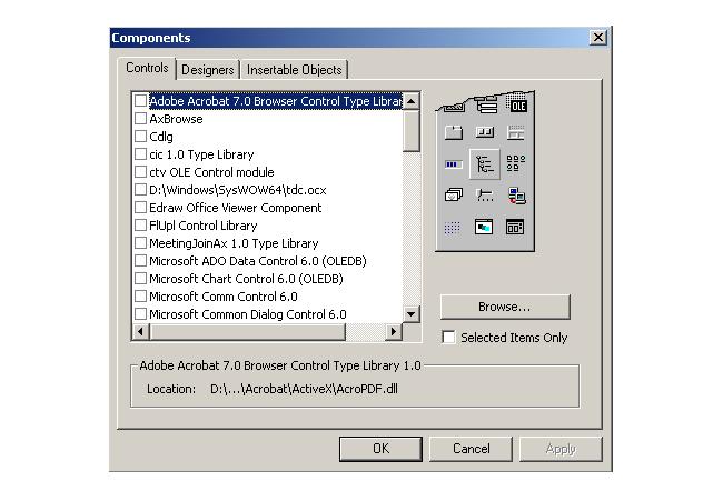 ActiveX Components