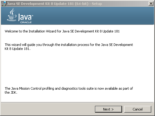 JDK 8u111 updates installation