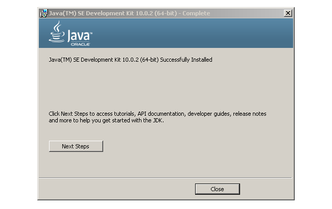 SDK Installation Completed