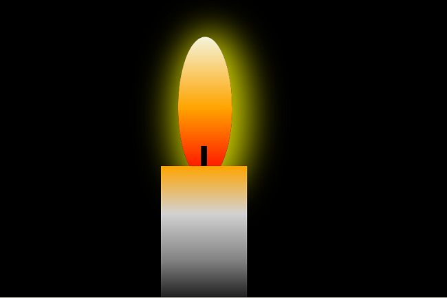 Output-CSS Project Burning-Candle