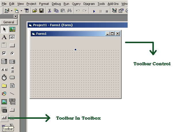 Toolbar Control in Toolbox