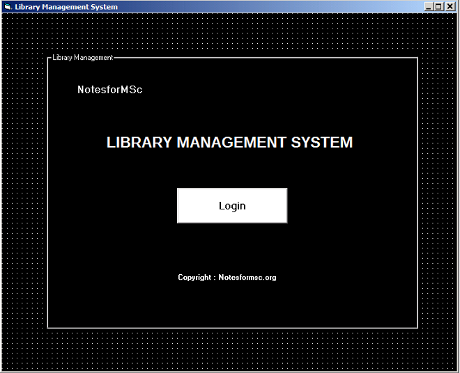 Form Library Management System
